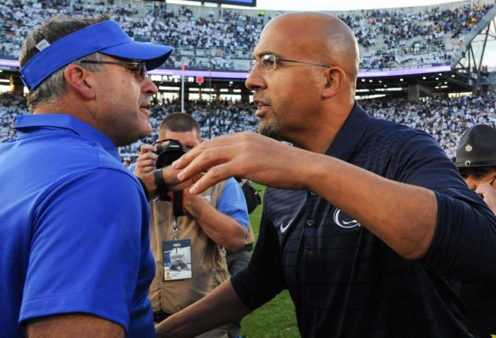 James Franklin: Penn State win over Pitt 'like beating Akron'