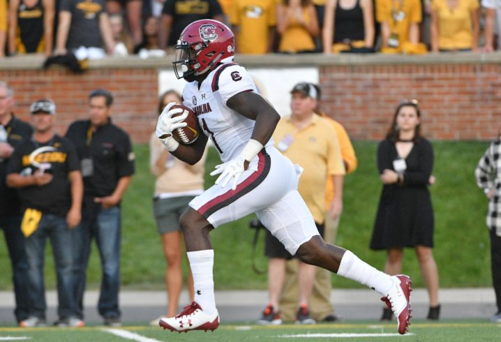 South Carolina WR Deebo Samuel vows to return after season-ending injury