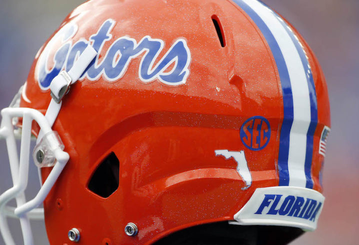 No. 21 Florida WR Tyrie Cleveland has badly sprained ankle