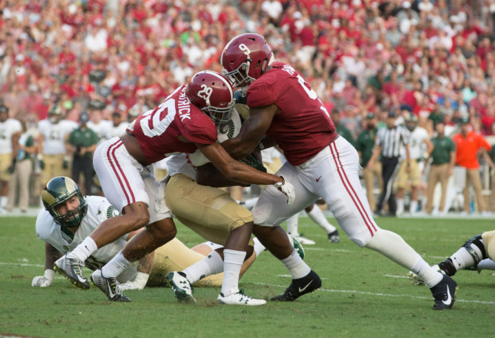 No. 1 Alabama overpowers Colorado State