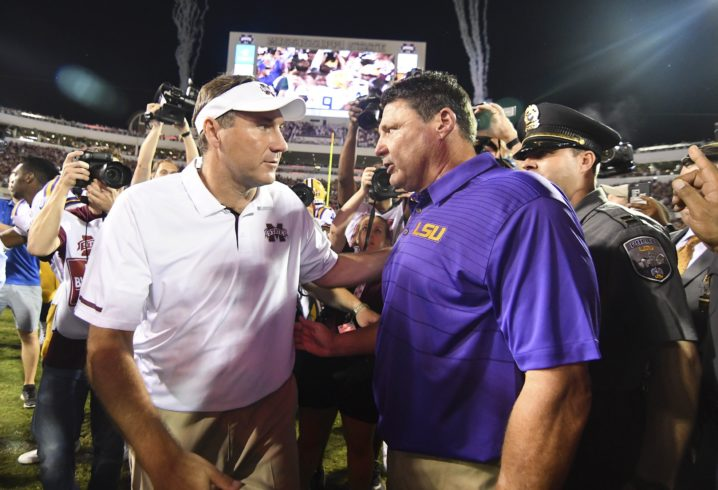 No. 12 LSU Is Getting Blown Out By Mississippi State