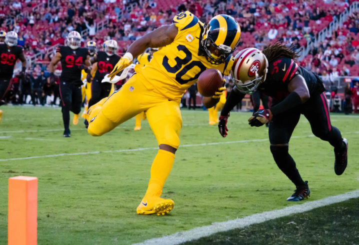 Rams travel to the bay area to face San Francisco tonight