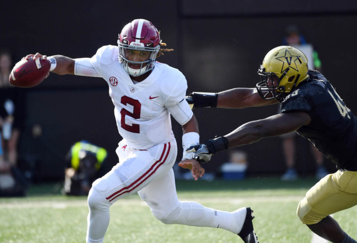 Alabama at Vanderbilt score, highlights