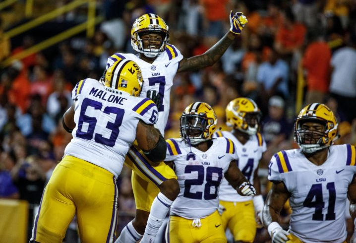 LOOK: LSU reveals jersey for homecoming game vs Troy