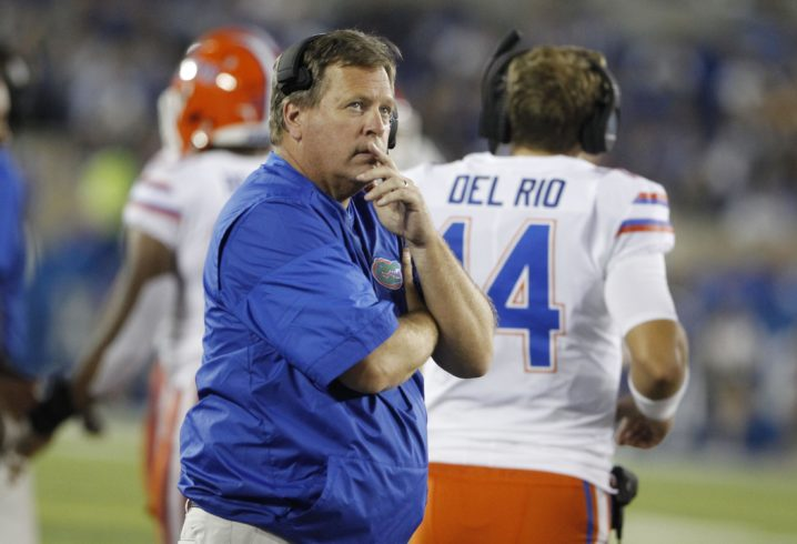 Jim McElwain names Florida's starting QB for upcoming Vanderbilt game