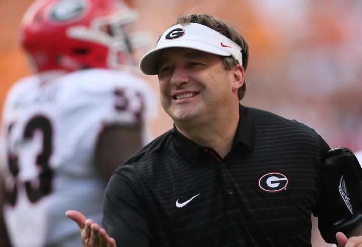 Kirby Smart explains what he's told Jacob Eason and Jake ...