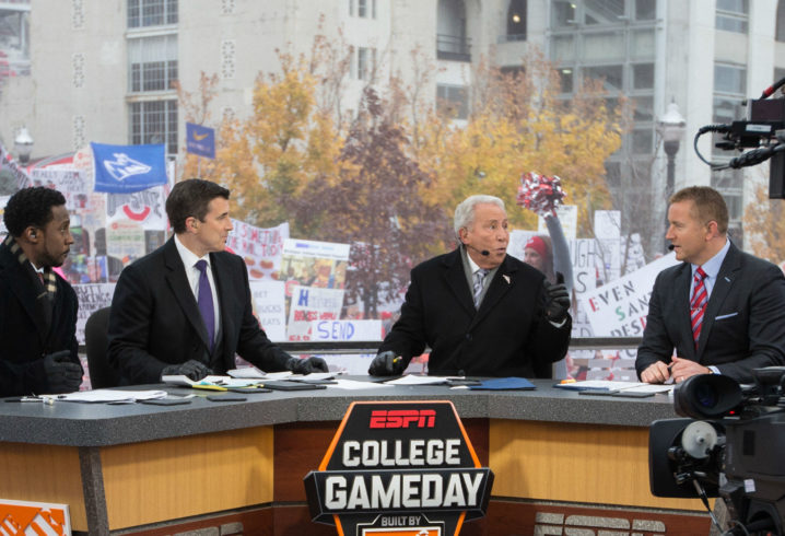 ESPN's College GameDay is Coming to New York City's Times Square
