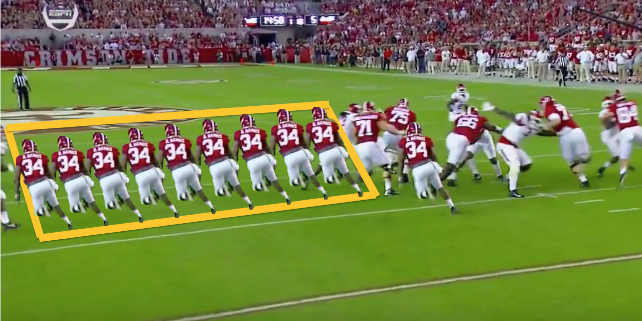 Monday Down South Alabama S Reloaded Pass Rush Is As Terrifying As Ever