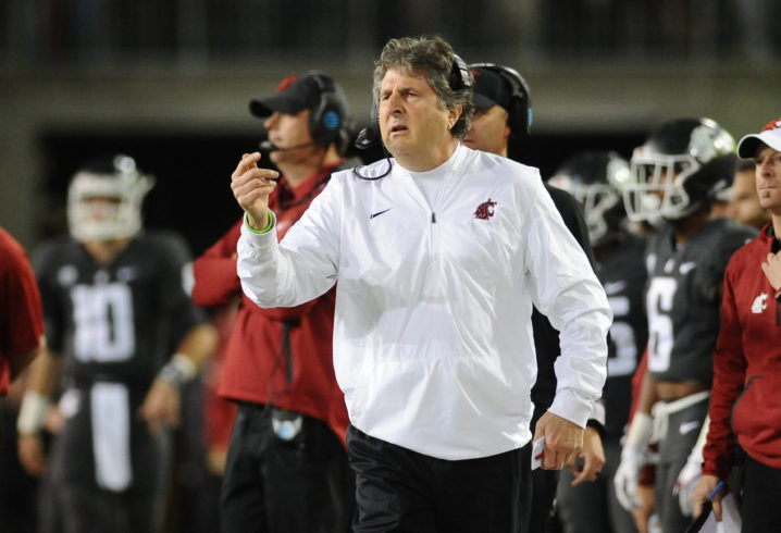 Mike Leach Agrees to New Five-Year Deal With Washington State