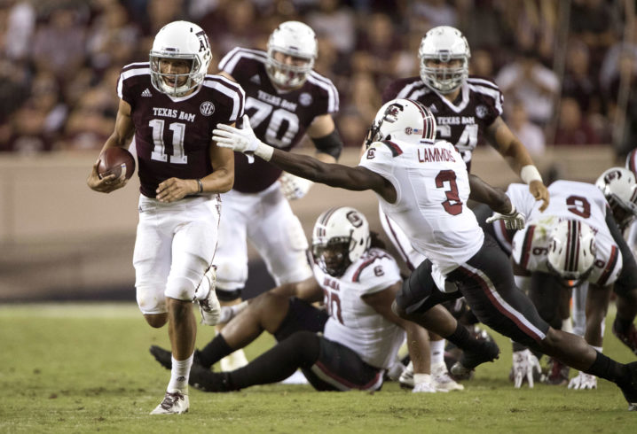 Texas A&M 19, Florida 17