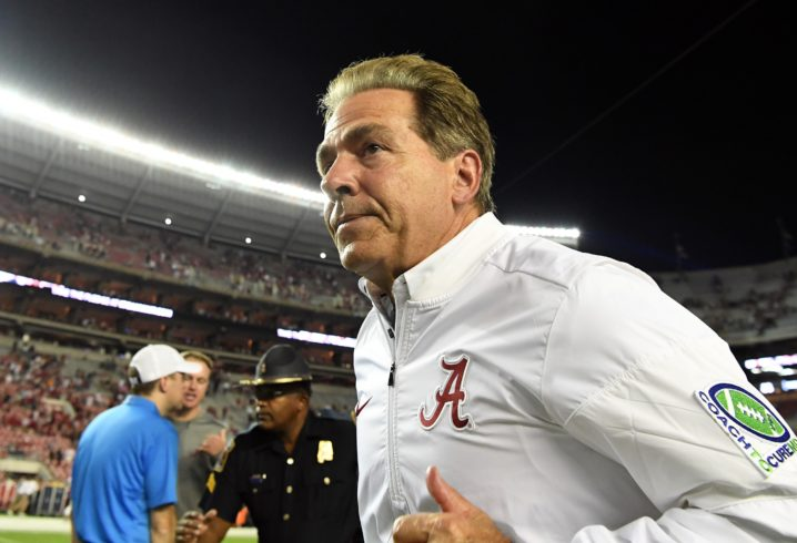 Week 5's Top 10: Alabama, Clemson Keep Rolling; Washington State Emerges