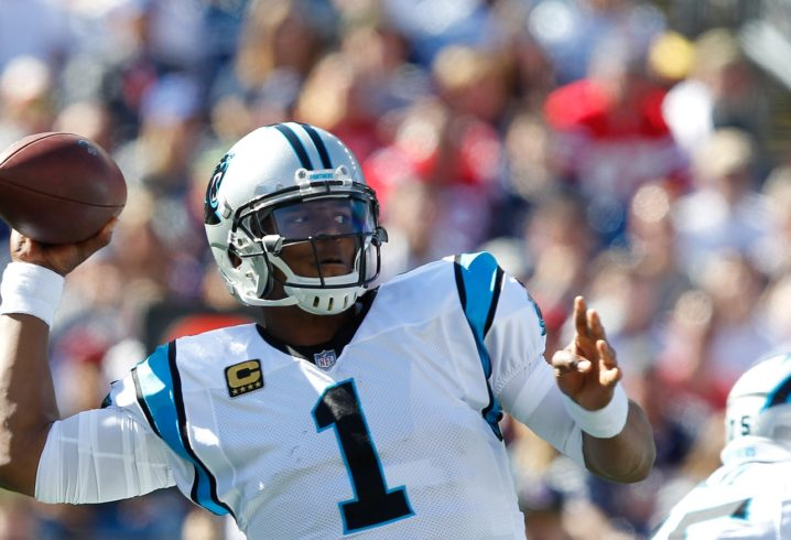 Cam Newton stars as Panthers beat Lions to go to 4-1