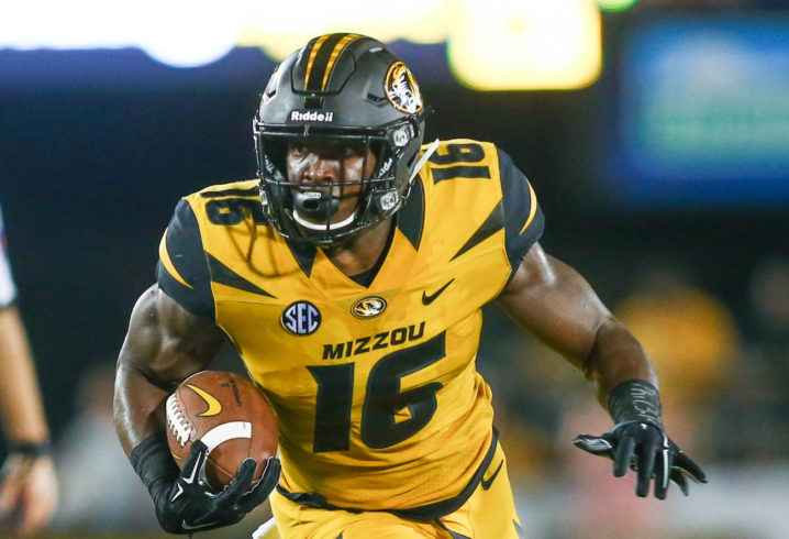 Lock tosses 6 TDs as Missouri thumps Idaho