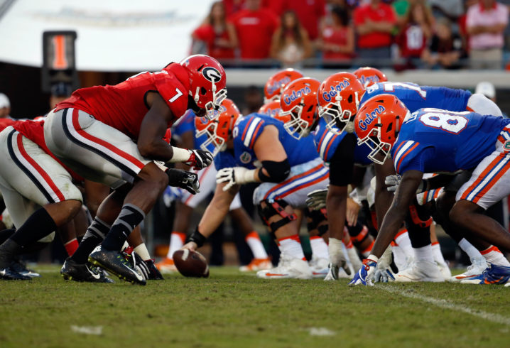 Gators let McElwain go after blowout loss at Georgia