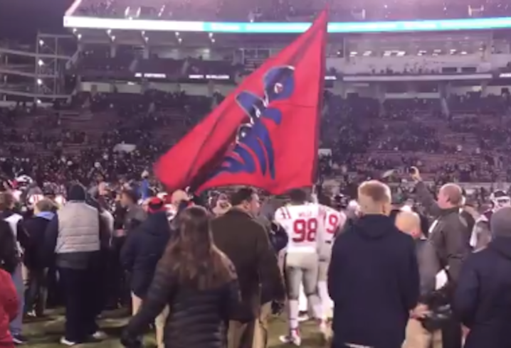 Ole Miss Rebels upset Mississippi State Bulldogs in 90th Egg Bowl