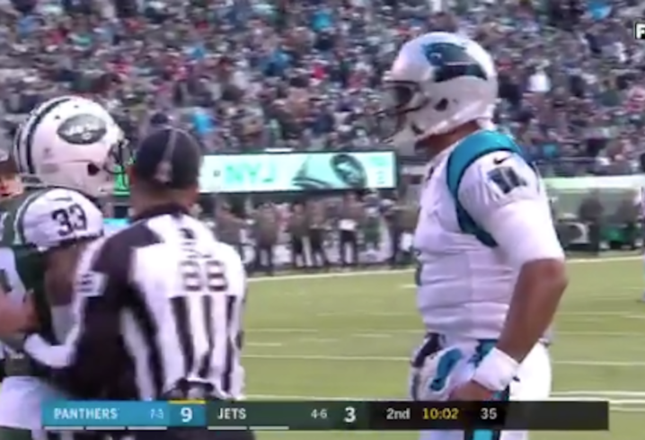 Jonathan Stewart scores in Panthers' Week 12 win over Jets