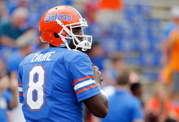 Florida names Malik Zaire as starting QB against Missouri