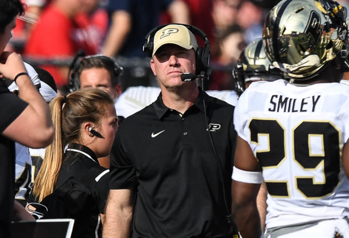 Tennessee interested in Purdue's Jeff Brohm for head-coaching job