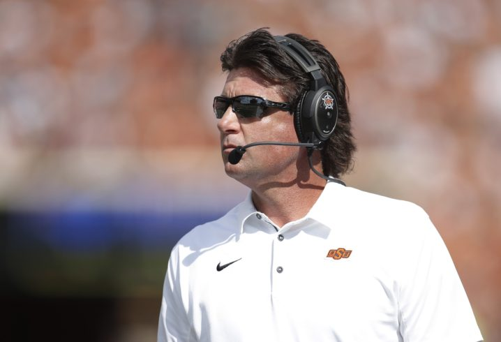 OSU's Mike Gundy meeting with Tennessee about coaching vacancy