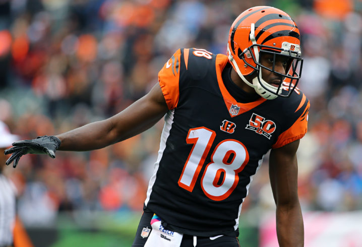 AJ Green gets large fine, won't appeal it