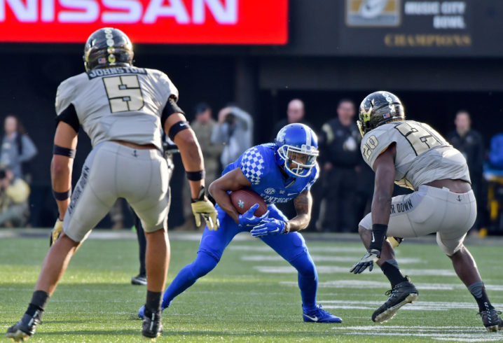 Benny Snell has historic day at Vanderbilt