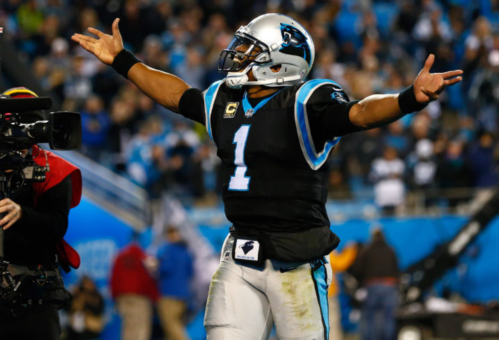 Panthers' Funchess Delivers on Promise to Soldier's Family