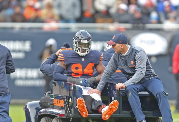 Bears DE to undergo surgery to fix MCL/PCL