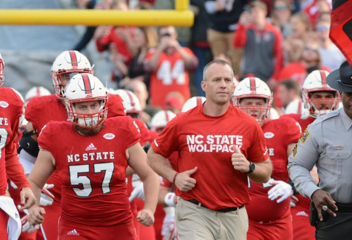 NC State offers increased salary to Dave Doeren, who Tennessee is targeting