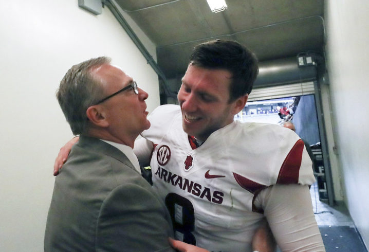 Jeff Long out as Arkansas athletics director
