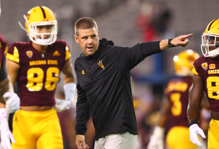 Offensive coordinator Billy Napier to leave ASU for head coaching job