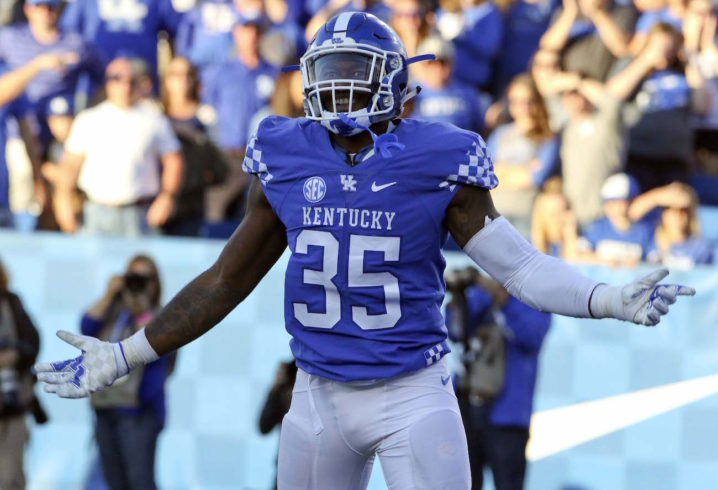 Kentucky LB Denzil Ware Suspended For Bowl Game