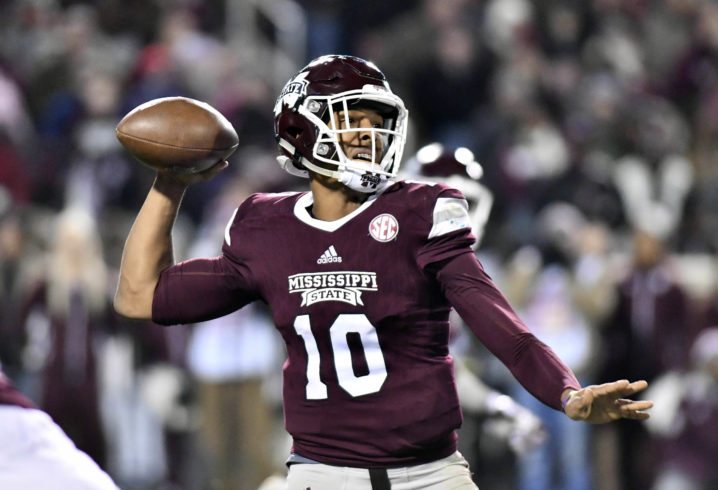 Freshman QB Keytaon Thompson leads Mississippi State past Louisville in TaxSlayer Bowl