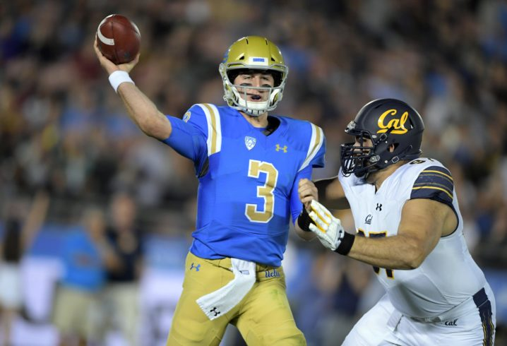 Josh Rosen Reportedly Expected to Sit Out Cactus Bowl vs. Kansas State