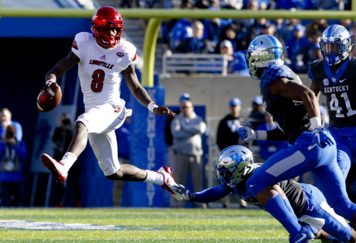 TaxSlayer Bowl: Lamar Jackson's mistake-filled day leads to Mississippi State win