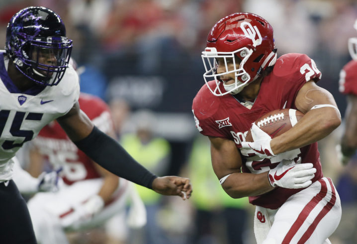 Oklahoma leading rusher Rodney Anderson has protection order filed against him