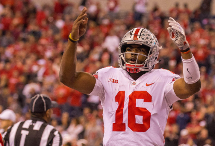 Ohio State survives Wisconsin's comeback, wins Big Ten title
