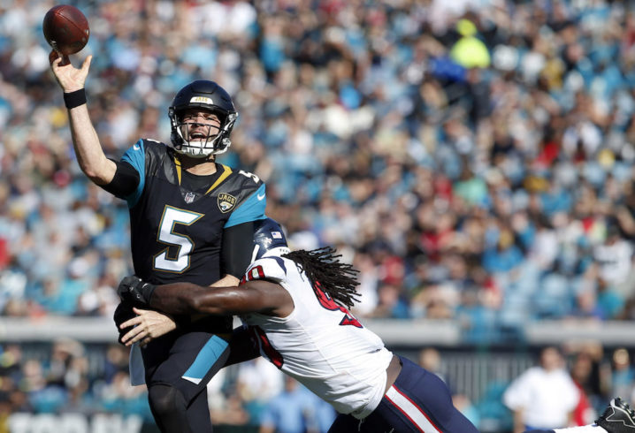 Jaguars fan sends trash to Jadeveon Clowney due to Blake Bortles comments