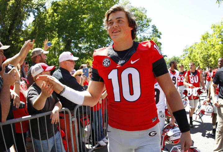 Rose Bowl: Georgia freshman QB Jake Fromm continues to mature