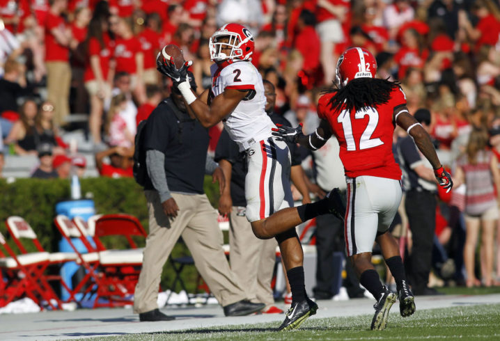 Georgia LB Natrez Patrick arrested for third time in three years