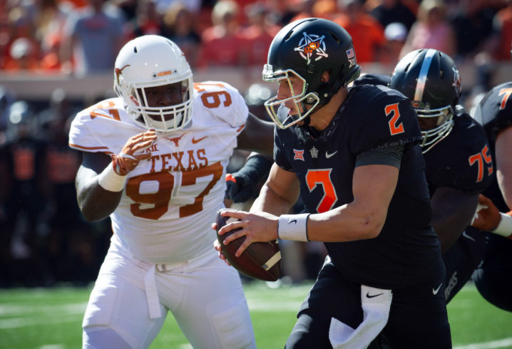 Texas suspends three ahead of bowl game