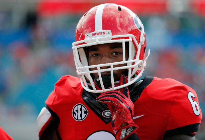 Georgia linebacker Natrez Patrick arrested hours after SEC championship game