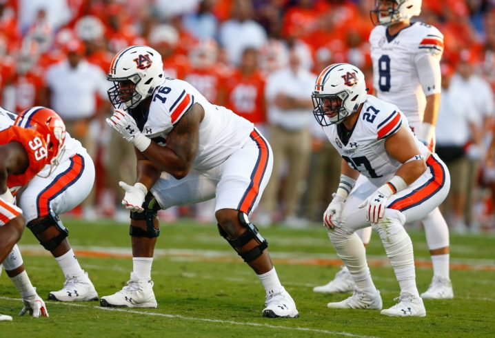 Auburn bringing back JB Grimes to coach offensive line