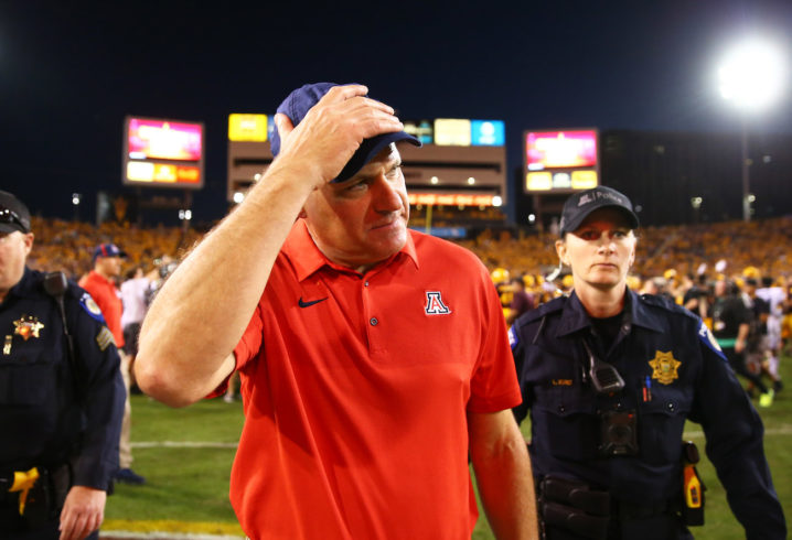 Arizona football coach fired amid sexual harassment claims
