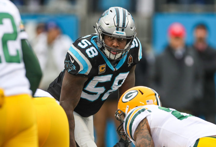 Panthers linebacker Thomas Davis is retiring after the 2018 season