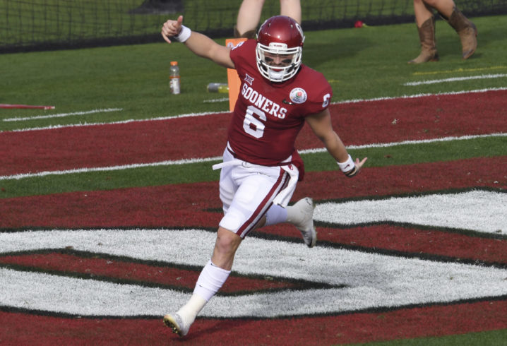 Oklahoma's Mayfield hints at desire to play for Dolphins