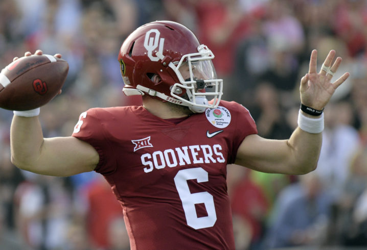 Baker Mayfield Explains Throat Slash Gesture In 1st Quarter