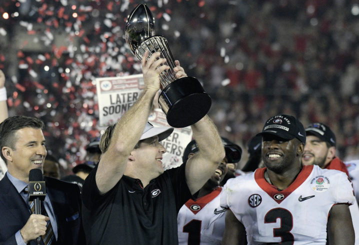 Like it or not, two SEC teams make CFP championship game