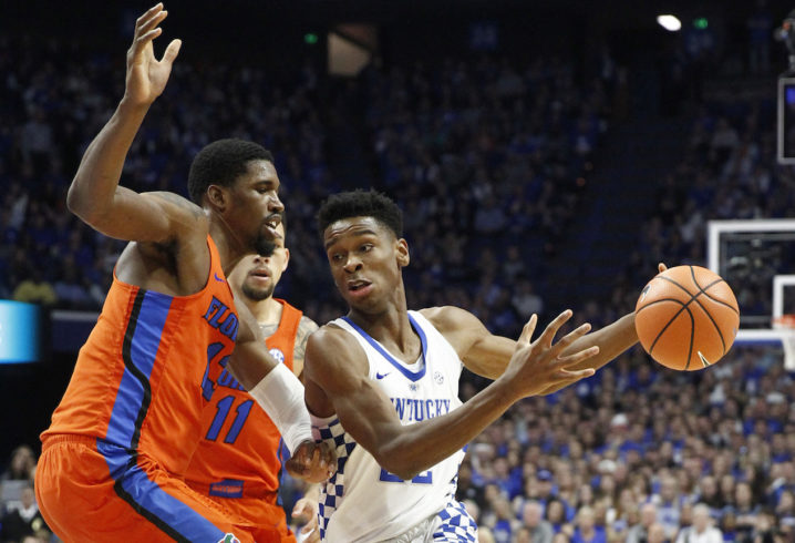 Fastbreak: Florida basketball edges No. 18 Kentucky 66-64 in Rupp Arena
