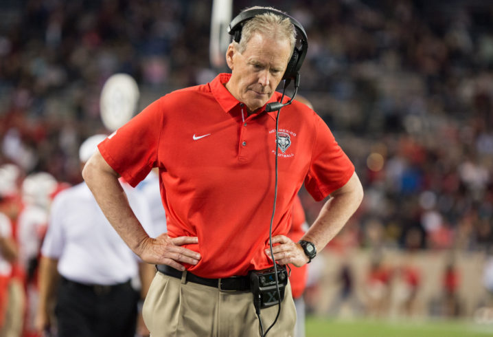 New Mexico coach Davie appealing suspension