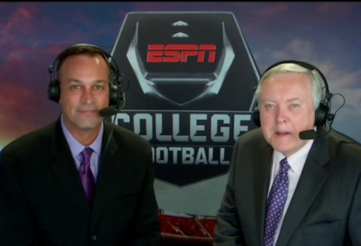 Longtime ESPN Broadcaster Mike Patrick Is Officially Calling It A Career